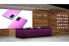 BTSの特大フォトパネル も! 紫であふれる 「Galaxy Harajuku」を徹底レポート!