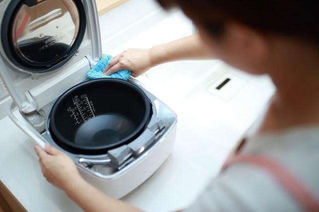 炊飯器 掃除2