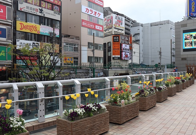 東京メトロ千代田線「北千住駅」周辺