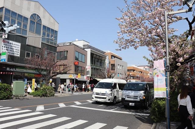 東急田園都市線・桜新町駅周辺