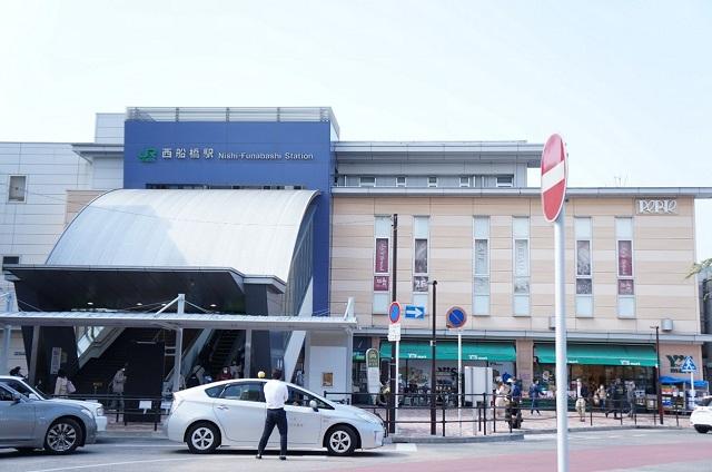 西船橋駅周辺