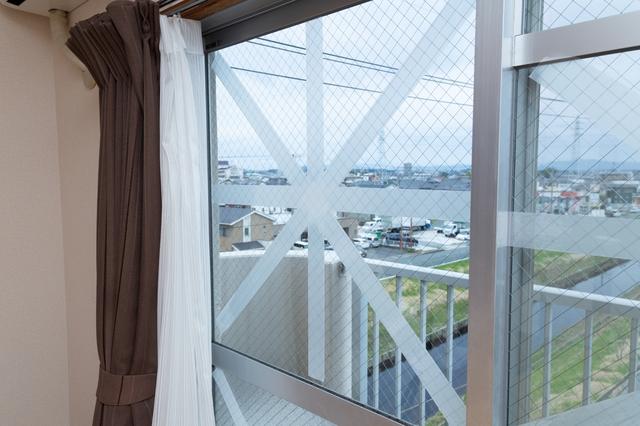 台風 窓 対策1