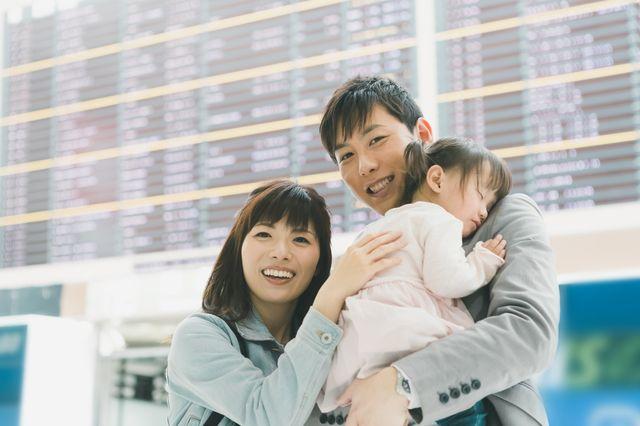 海外赴任から帰国した家族