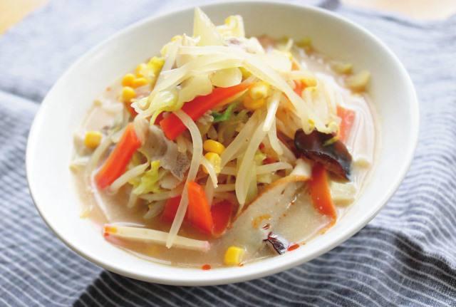 """最後まで飲み干したい白濁したコク深いスープの秘密は"""" 牛乳"""" にアリ!"""